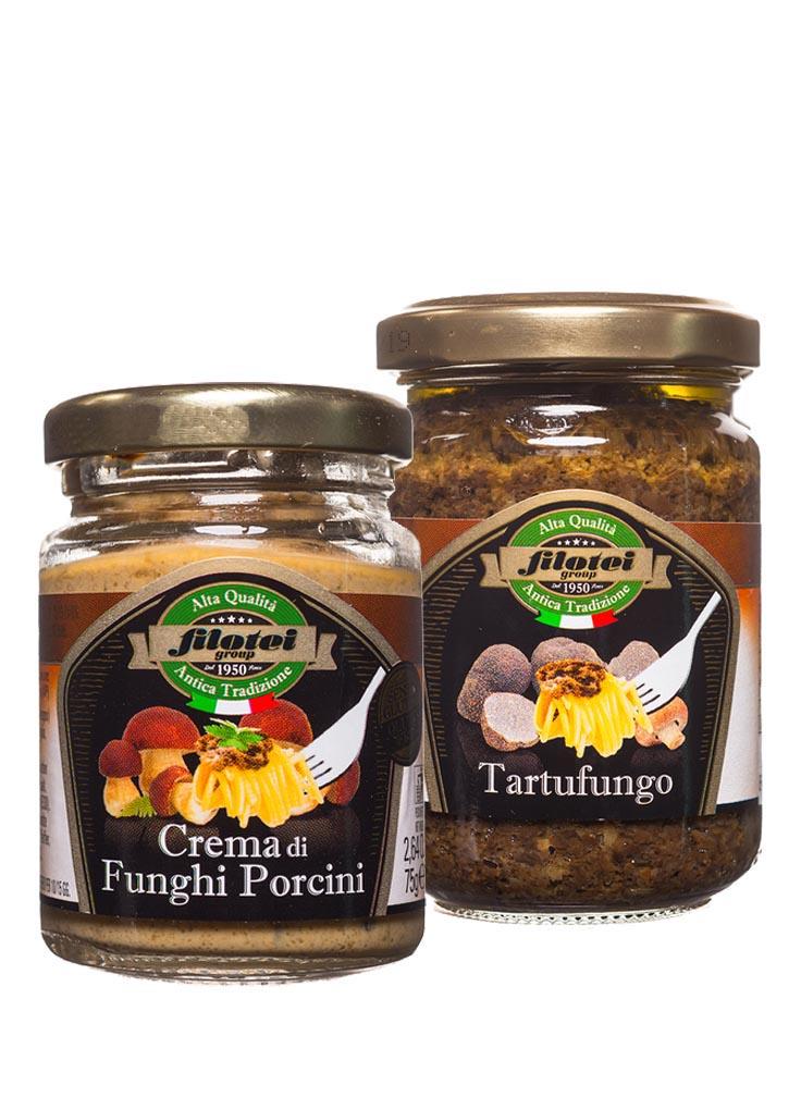salse e creme funghi e tartufi filotei group