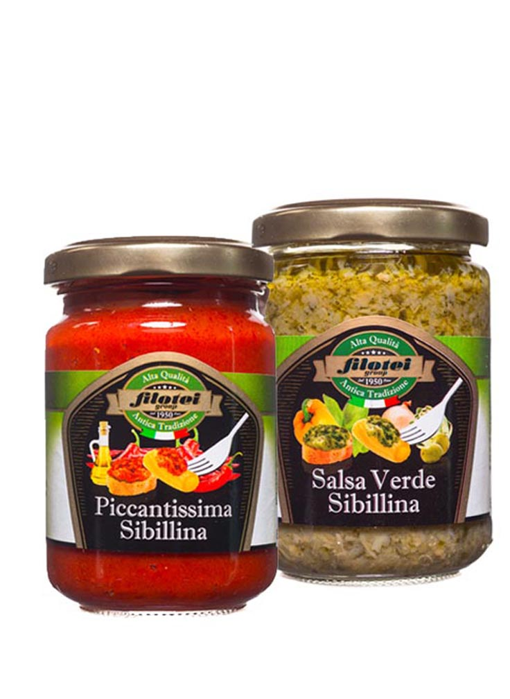 salse e creme alle verdure filotei group
