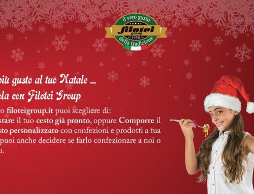 Dai più gusto al tuo Natale, a tavola con Filotei Group