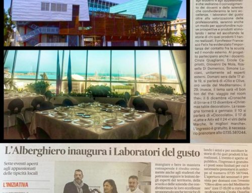 """Filotei Group tra i protagonisti delle """"NUOVE PROSPETTIVE DI GUSTO"""" dell'Istituto Alberghiero F. Buscemi"""